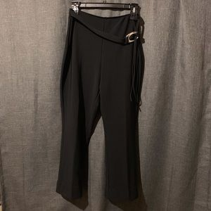 Fashion Bug Stretch Trousers with Belt Size 14/16